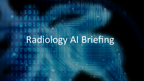 Radiology AI Briefing logo graphic